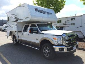 Truck Camper bei der Rückgabe