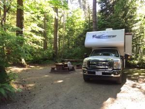 Miracle Beach, Site auf Campground