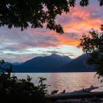 Sonnenuntergang im Porteau Cove Provincial Park